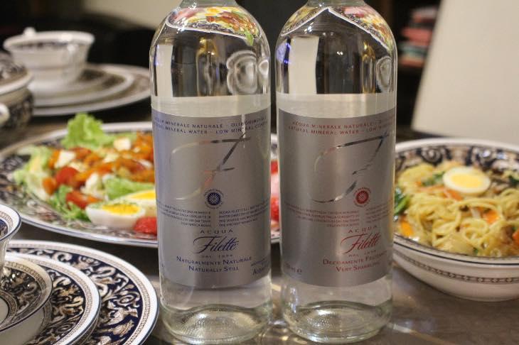 特別なパーティーはお水にもこだわって『Acqua Filette(アクアフィレッテ)』