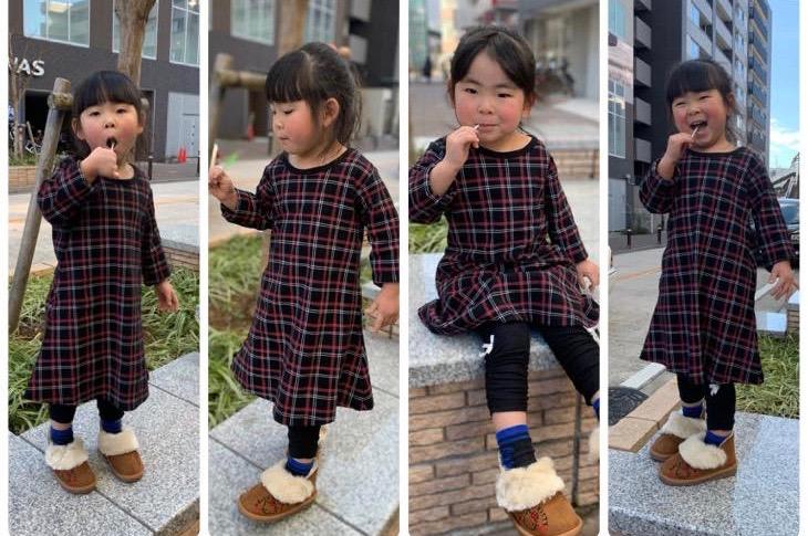 子供服は通販でお安くゲット!『Aラインワンピース』Nissen(ニッセン)
